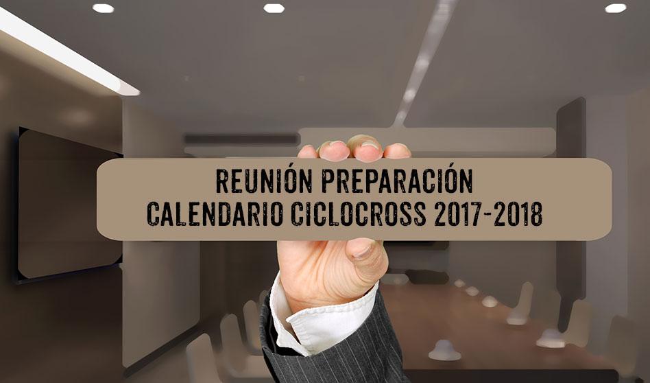 Convocatoria: Reunión calendario Ciclocross 2017-2018