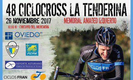 Abiertas inscripciones para el 48 Ciclocross La Tenderina «VII Memorial Amadeo Izquierdo»