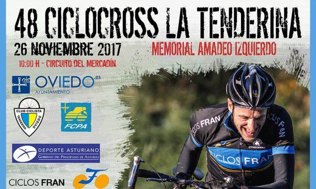 """Abiertas inscripciones para el 48 Ciclocross La Tenderina """"VII Memorial Amadeo Izquierdo"""""""