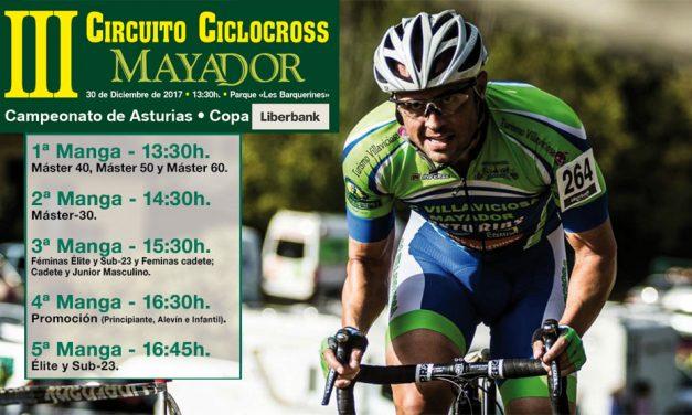 Abiertas inscripciones para el III Circuito Ciclocross Mayador (Campeonato de Asturias)