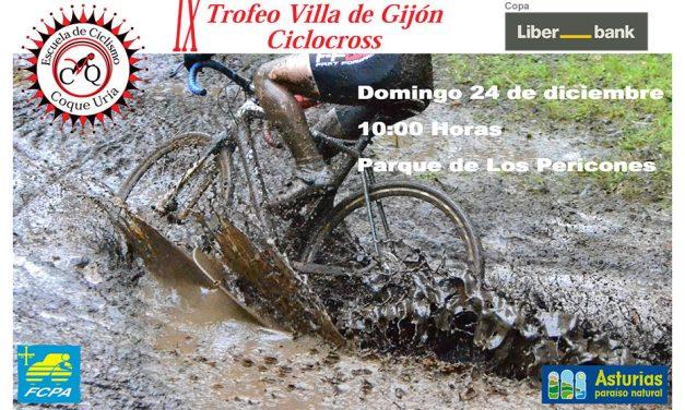 Inscripciones abiertas para el IX Trofeo Villa de Gijón Ciclocross