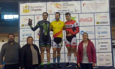 Jaime Vega, ganador de la General de la Copa de España en pista
