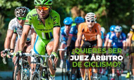 Apertura del plazo de inscripción y selección para aspirantes a Juez Árbitro de Ciclismo