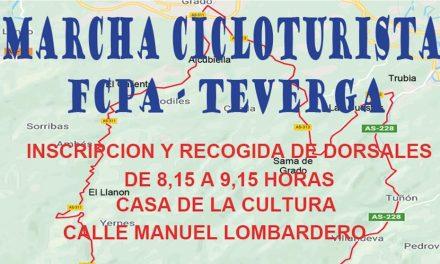 Ya os podéis inscribir (solo en web) en la Marcha Cicloturista Puertos de Teverga