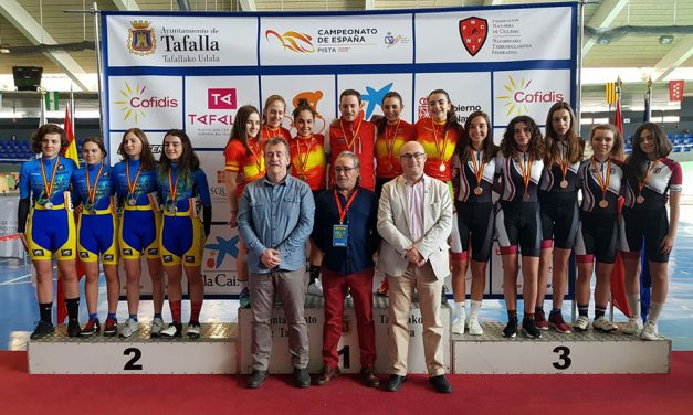 Buen sabor de boca de la Selección Asturiana de Pista