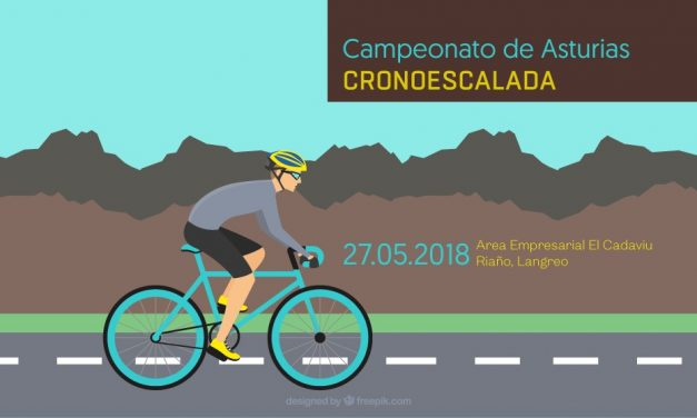 Inscripciones (solo en web) para el Campeonato de Asturias de Cronoescalada
