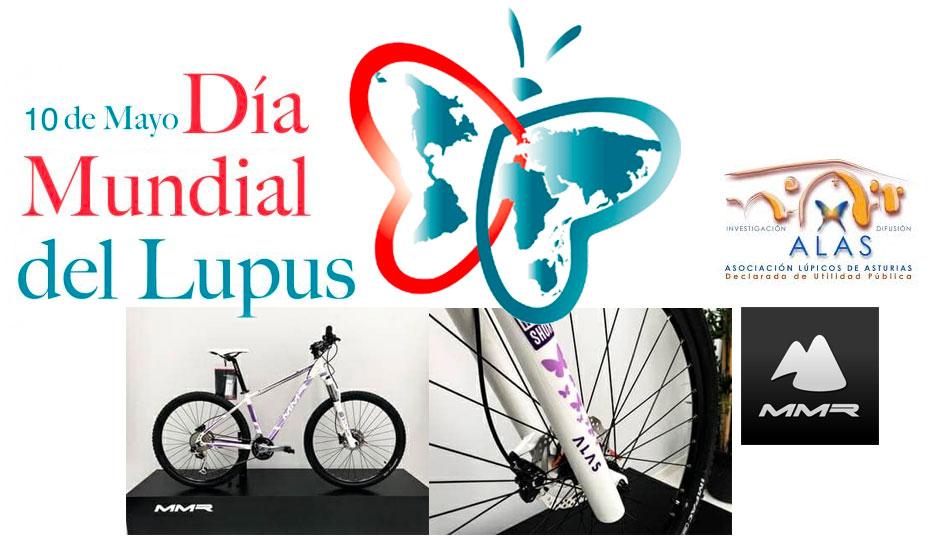MMR Bikes se une al Día Mundial del Lupus: sorteo de bicicleta exclusiva destinado a ALAS
