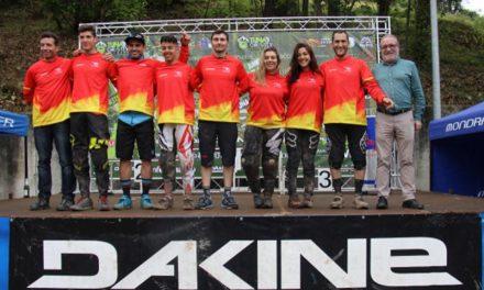 Carlos Von Heyden y Telma Torregrosa se hacen con la victoria en la Tuña Gravity DH Race2018