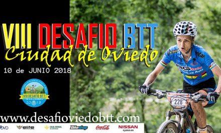 Ya os podéis inscribir en el VIII Desafío BTT Ciudad de Oviedo (10 de Junio)