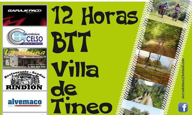Inscripciones para las 12 horas BTT Villa de Tineo