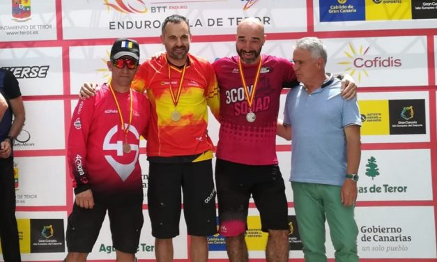 Iván Runza y Carlos Fernández, campeones de España de Enduro BTT