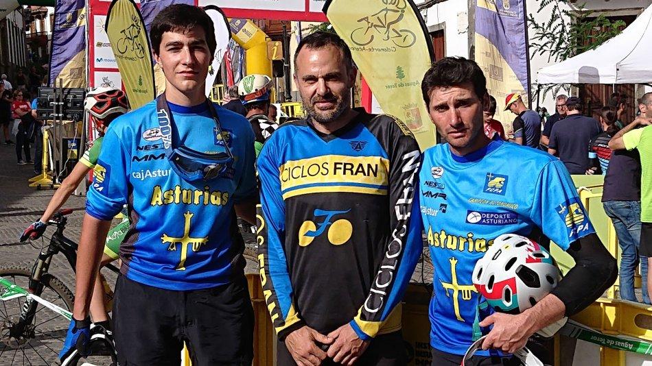 ivan-runza-y-carlos-fernandez-campeones-espana-enduro-btt_FOTO participantes Asturianos Enduro Teror - Campto España2018