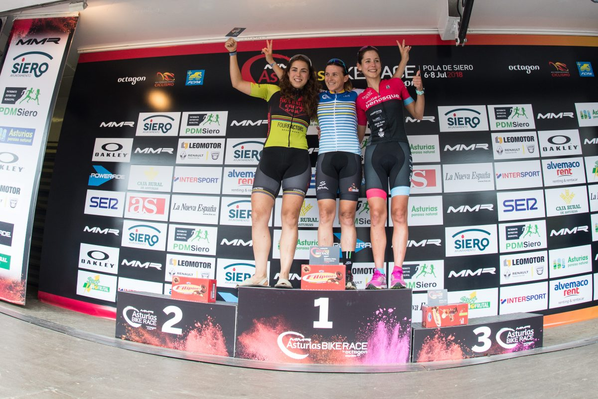 los-primeros-ganadores-de-mmr-asturias-bike-race_Podium General Elite Women