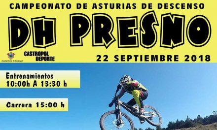 Abiertas inscripciones para el Campeonato de Asturias de Descenso DH Presno (22 de Septiembre)