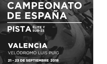 Representación asturiana en el Campeonato de España de Pista