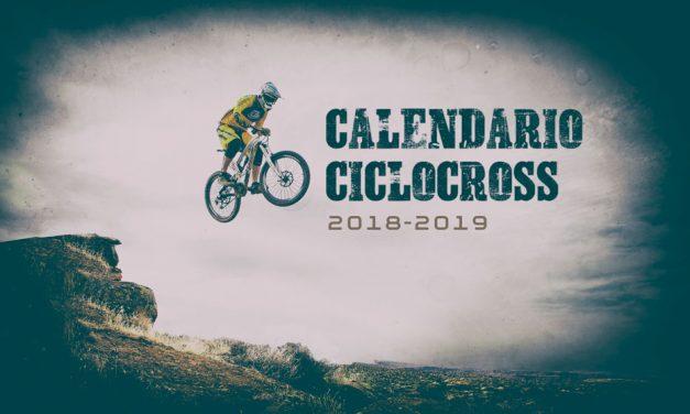 ACTUALIZACIÓN: Calendario Ciclocross 2018-2019