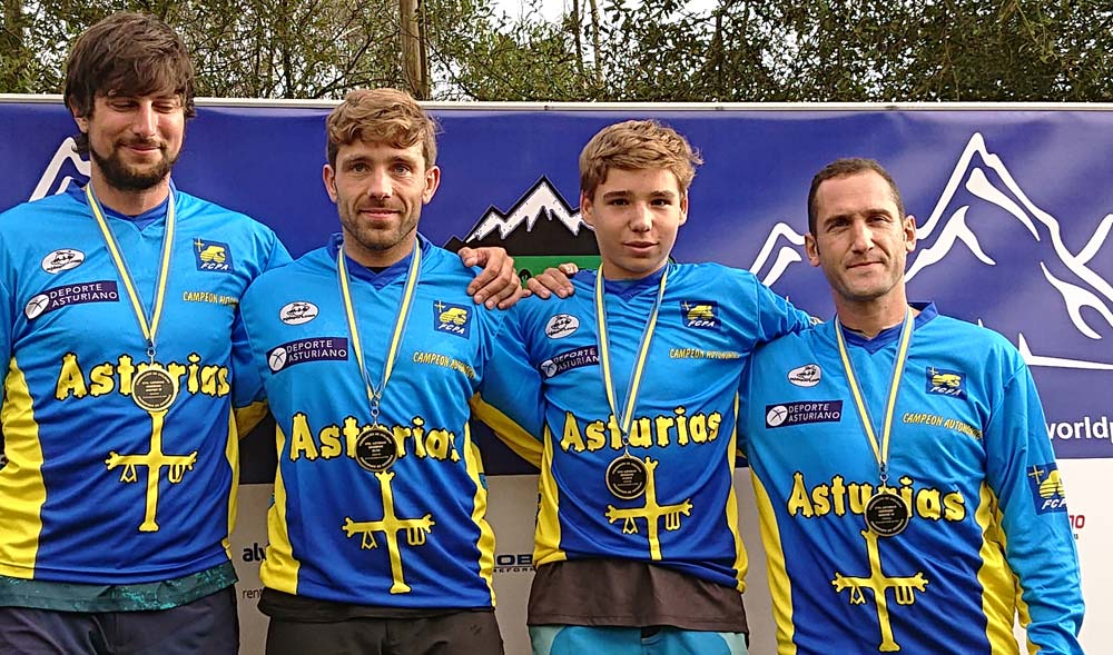 Ganadores del Campeonato de Asturias de Descenso 2018