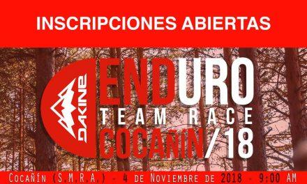 Noviembre arranca con el Cocañín Enduro Team Race 2018 (inscripciones abiertas)