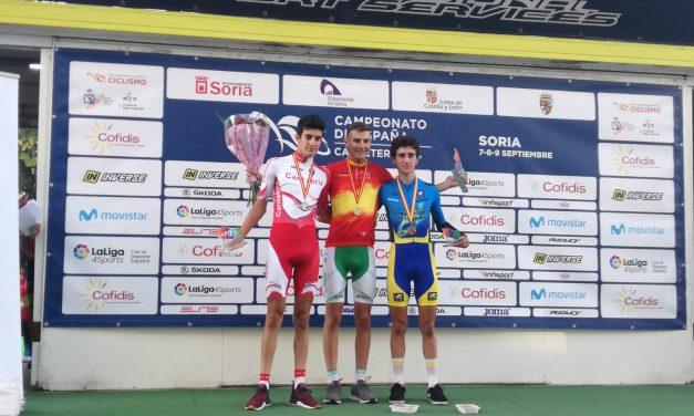 Pelayo Sánchez, mundialista en Innsbruk y medalla de bronce en los Campeonatos de España