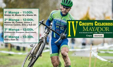 Inscripciones abiertas para el IV Circuito Ciclocross Mayador (30 de diciembre)