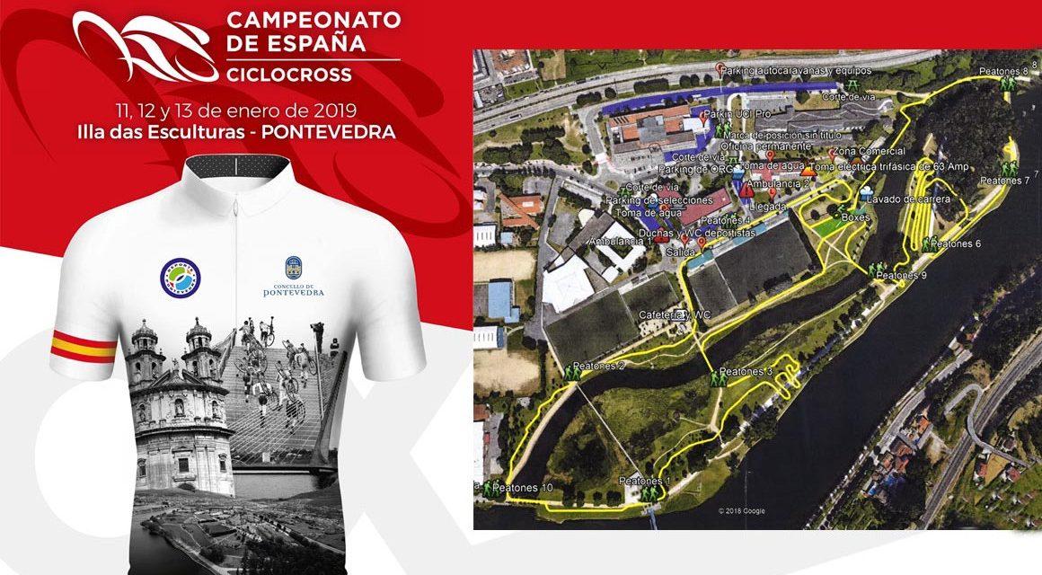 Campeonatos de España de Ciclo Cross 2019 (Pontevedra, 11-13 Enero)