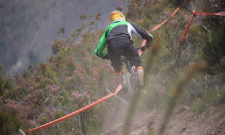 Victorias de Iraitz Etxebarria y Telma Torregrosa en la Tuña Gravity DH Race 2019