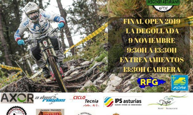 DH La Degollada – Final Open Asturias 2019: inscripciones abiertas