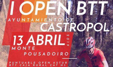 Abiertas inscripciones para el I Open BTT Ayuntamiento de Castropol