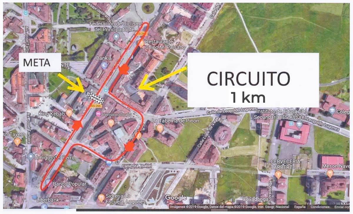 Calendario de pruebas ciclistas en Asturias durante el año