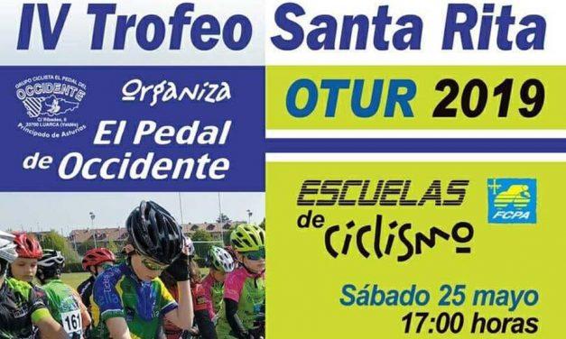 Ya os podéis inscribir en el IV Trofeo Santa Rita para Escuelas (Otur, 25 de Mayo)