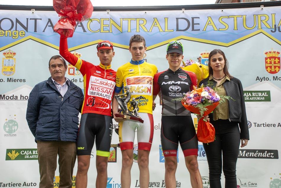 El aragonés Pablo Castrillo gana la Vuelta a la Montaña Central