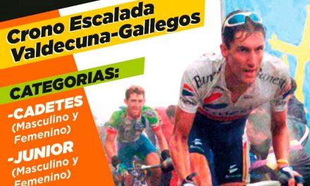 Inscripciones para el Campeonato de Asturias Cronoescalada para Cadetes (masculino y femenino) y Junior (masculino y femenino)