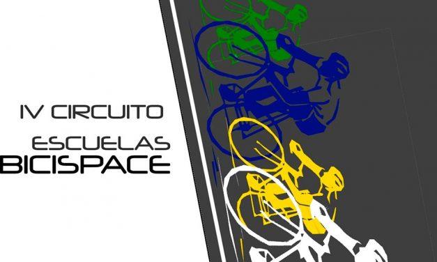 Ya os podéis inscribir en el IV Circuito Escuelas Bicispace (8 de junio)