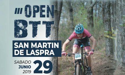 Inscripciones: El 29 de junio se celebrará el III Open San Martín de Laspra