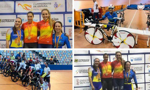 Nerea Nuño bronce en velocidad en el Campeonato Nacional de Ciclismo en Pista 2019