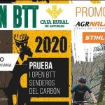 Ya os podéis inscribir en el I Open BTT Senderos del Carbón (domingo, 1 de marzo)