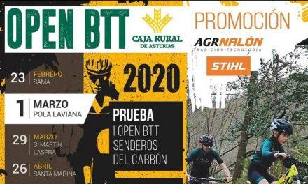 Ya os podéis inscribir en el I Open BTT Senderos del Carbón (domingo, 1 de marzo)