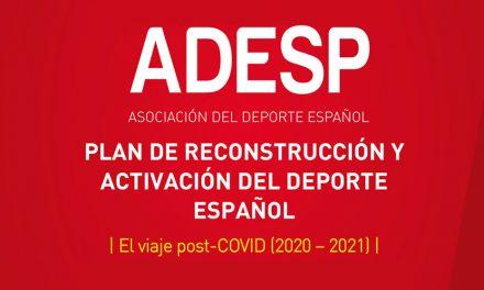 Plan de reconstrucción y activación del deporte español (ADESP)