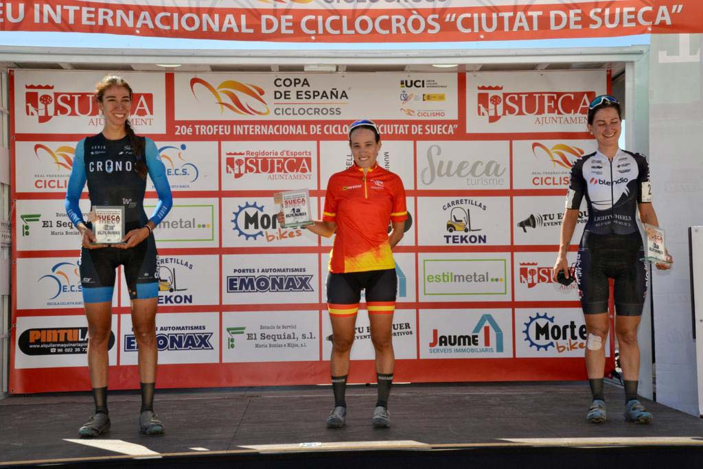 comienza-la-copa-de-espana-de-ciclocross-2020-podium-feminas