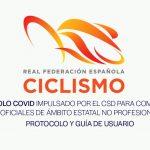 Nuevo protocolo para carreras nacionales (RFEC)