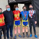 Asturias cierra el campeonato de España de ciclocross con nuevas medallas