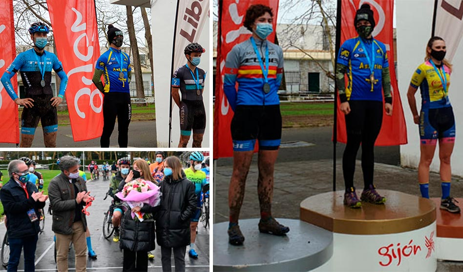 Ciclocross Villa de Gijón: noticia y clasificaciones