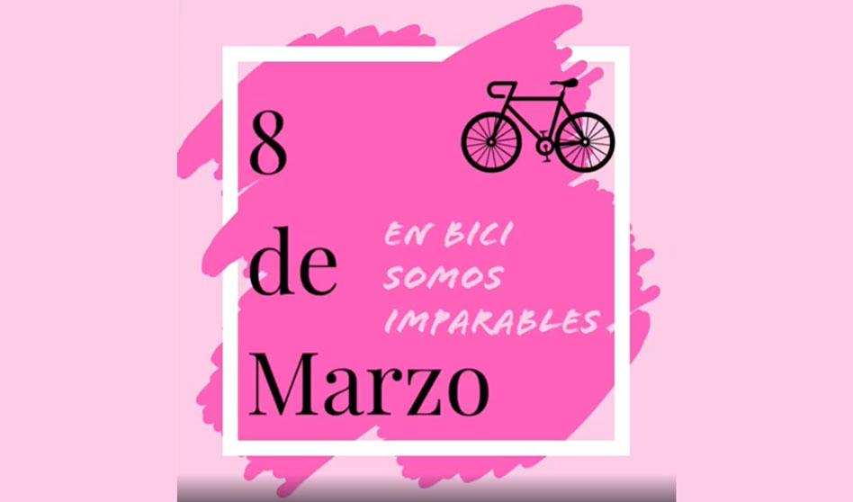 8M, Mujer y ciclismo