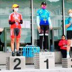 164 ciclistas participaron el Campeonato de Asturias de Cronoescalada