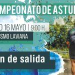Orden de salida del Campeonato de Asturias CRI (Laviana, 16 Mayo)