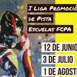 I Liga Promoción de Pista Escuelas FCPA: inscripciones abiertas